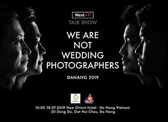 "Talkshow ""We are not wedding photographers"" - lần 2 tại Đà Nẵng ngày 18/07/2019"