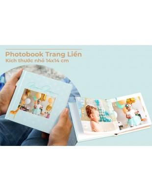 Photobook em bé 14x14 cm