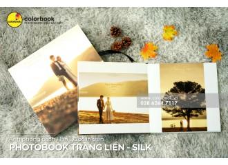 Ảnh phong cách Hàn Quốc in trên Photobook Trang liền